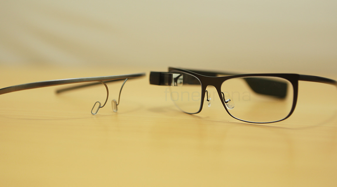 Google Glass with a Titanium thin Frame – Unboxing and Demo