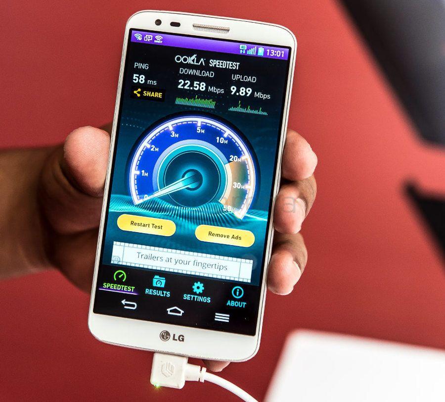 LG G2 LTE on Airtel 4G-5