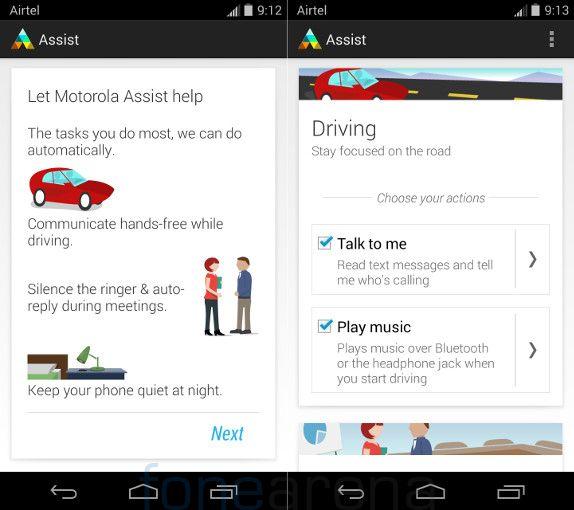 Motorola Moto X Moto Assist