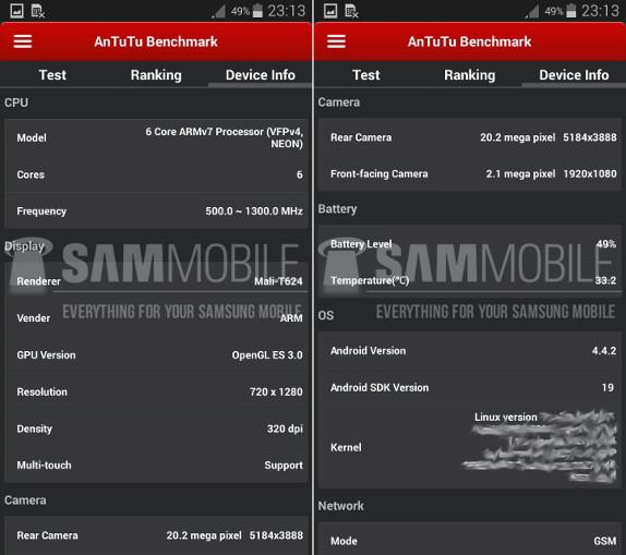 Samsung Galaxy S5 Zoom specs leak