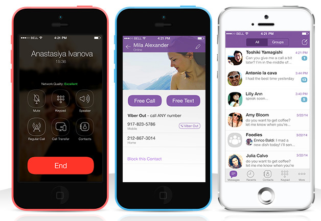 Viber for iPhone gets iOS 7 redesign and new features