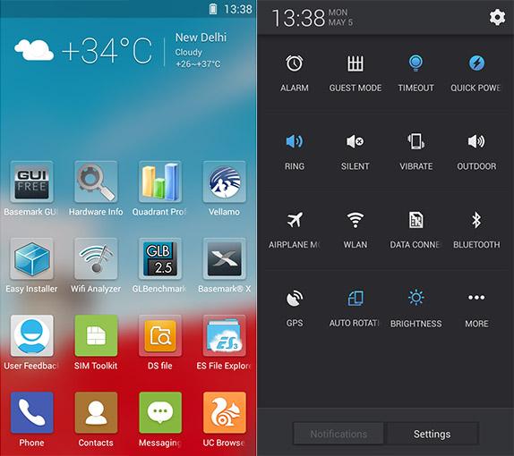 Elife E7 Mini UI 1