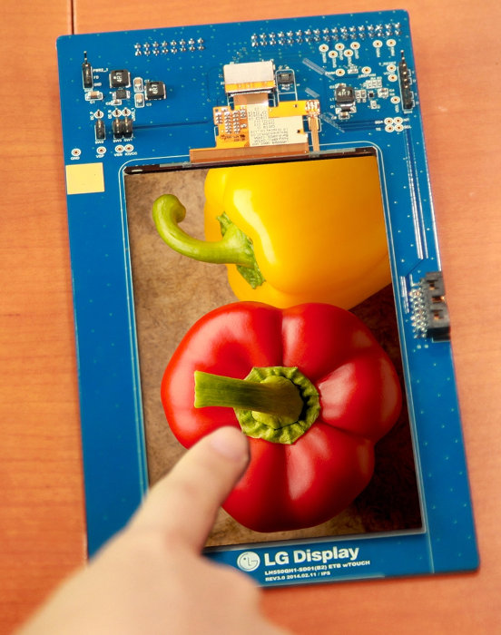 LG 5.5-inch QHD display