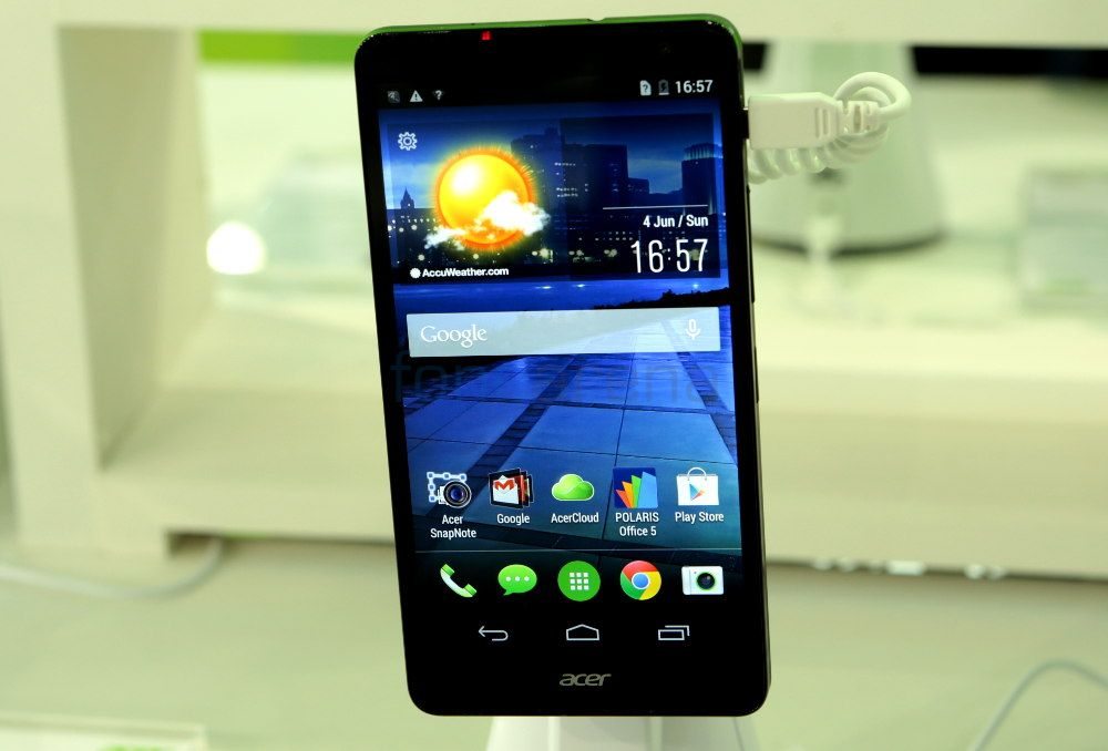 Acer Liquid X1 Hands On And Photo Gallery