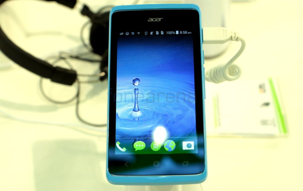 Acer Liquid Z200 Hands On And Photo Gallery