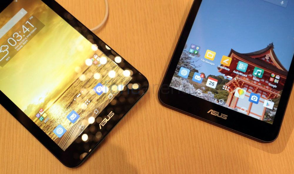 Asus MeMO Pad 8 vs Asus MeMO Pad 7 Photo Gallery
