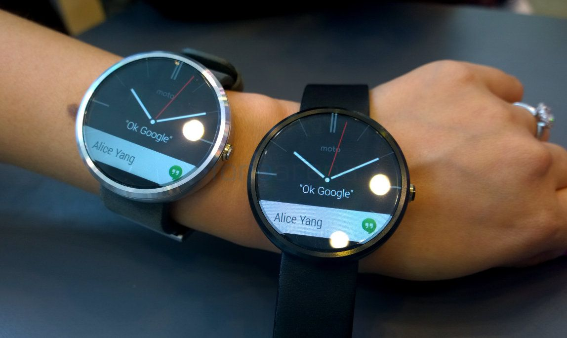 Motorola Moto 360 Photo Gallery
