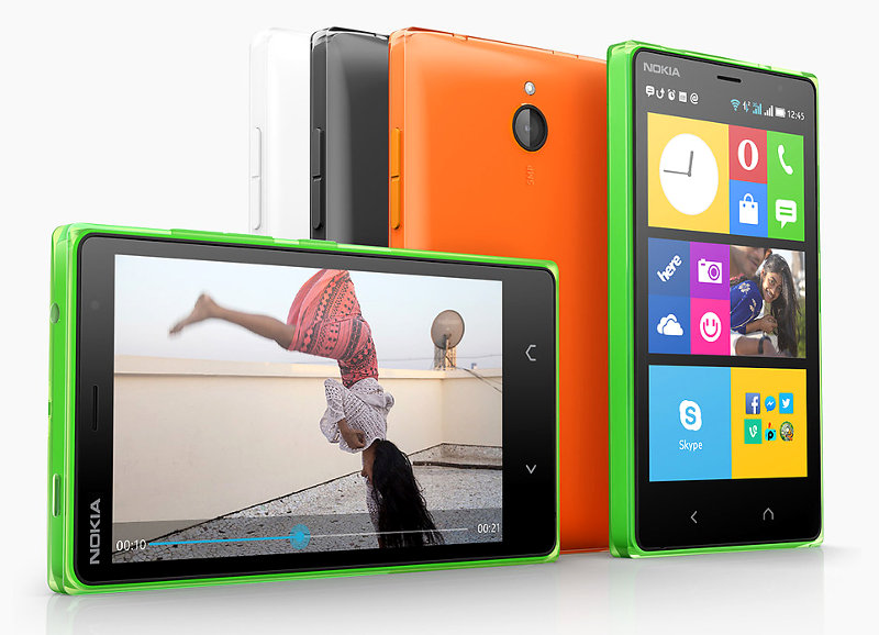 Nokia X2 Dual SIM Android smartphone with 4 3-inch display, 1GB RAM