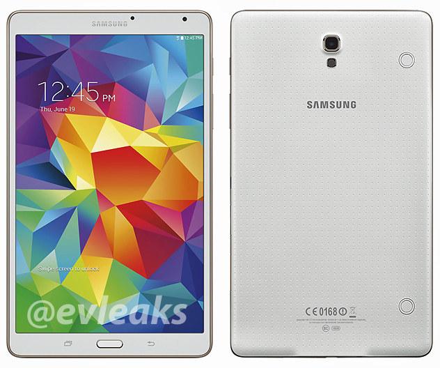 Samsung Galaxy Tab S 8.4 leak