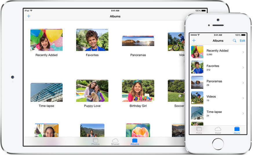 iOS 8 iCloud Photo Library