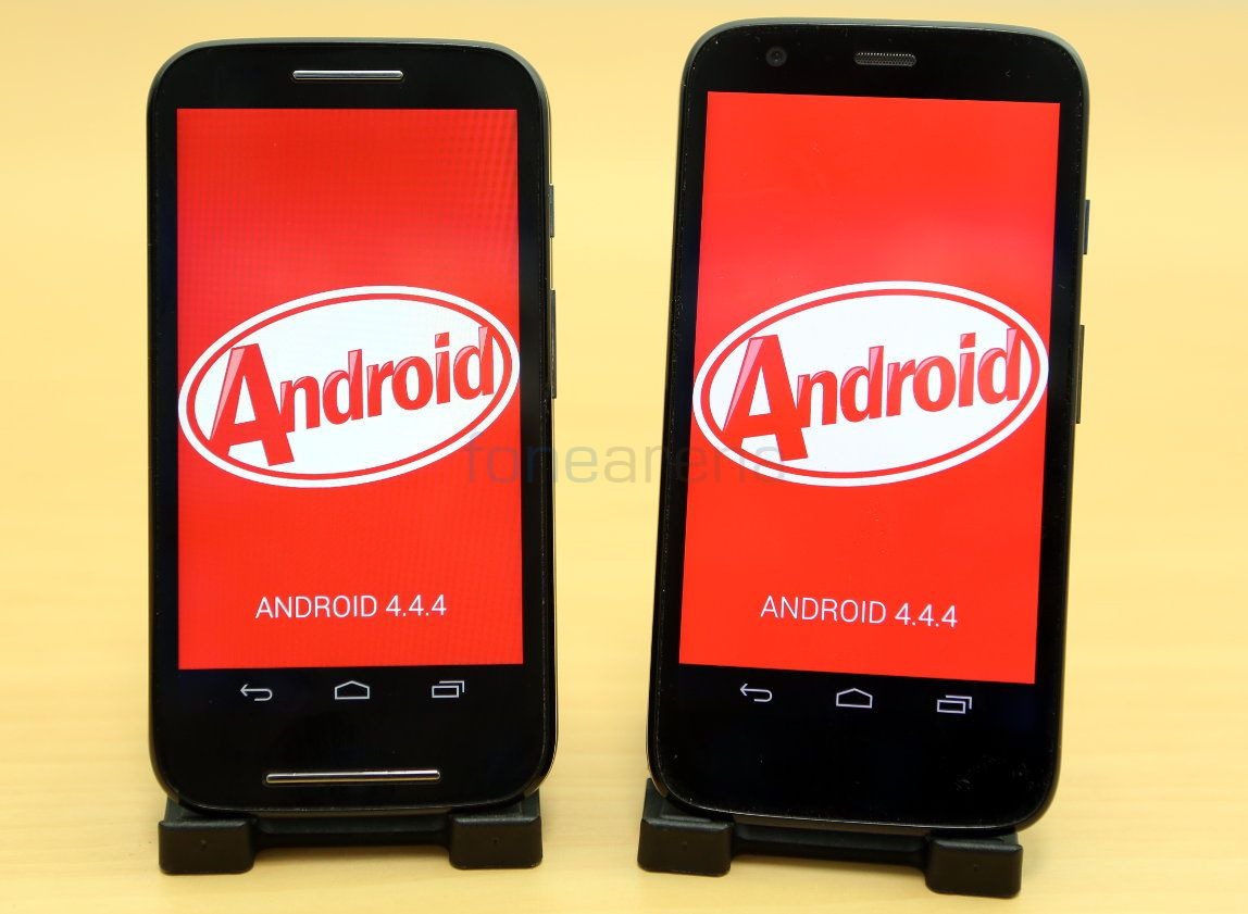 Android 4.4.4 for Moto E and Moto G