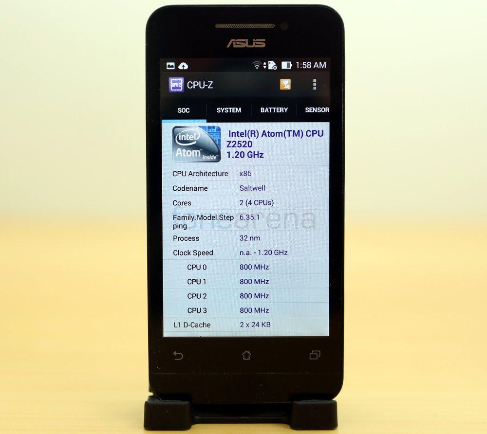 Asus Zenfone 4 Benchmarks