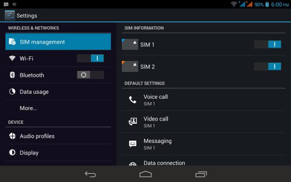 Digiflip Pro XT 712 Dual SIM