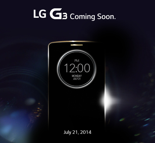 LG G3 India launch teaser