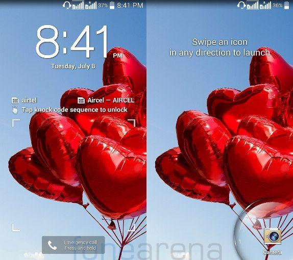 LG L90 Dual Knock Code and Lockscreen Shortcuts