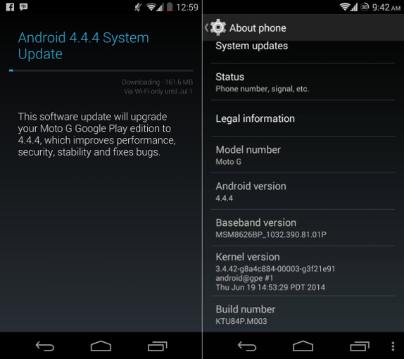 google play for android 4.4