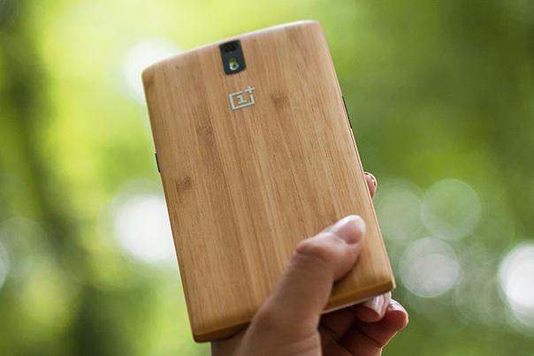 OnePlus One Bamboo StyleSwap cover
