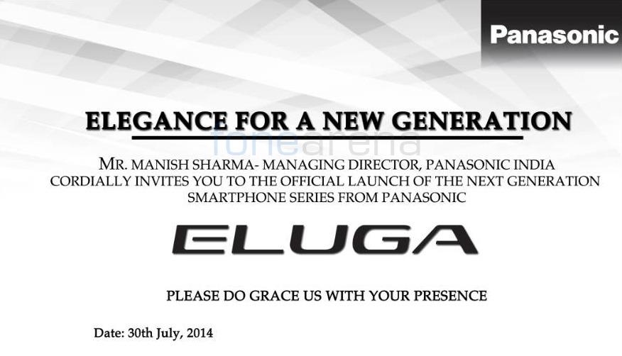 Panasonic Eluga India launch
