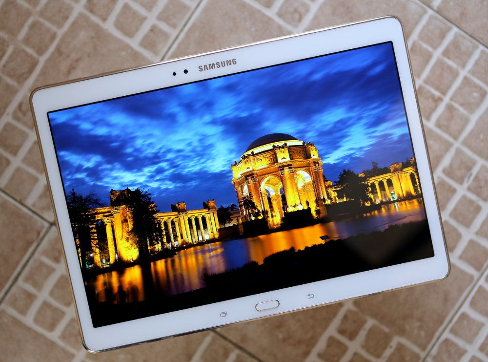Ambient Light Sensor >> Samsung Galaxy Tab S 10.5 Review