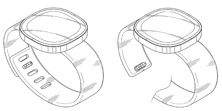 Samsung rounded smartwatch patent