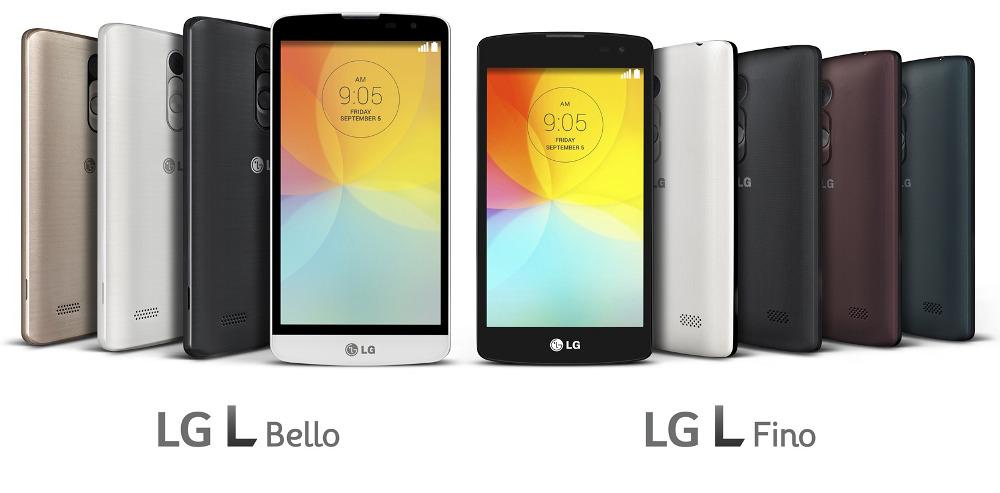 LG L Bello and L Fino