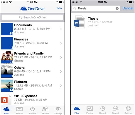 Microsoft updates OneDrive mobile apps, merges office and personal