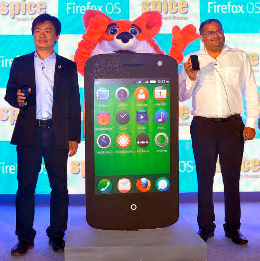 Spice Fire One Mi – FX 1 running Firefox OS launched for Rs