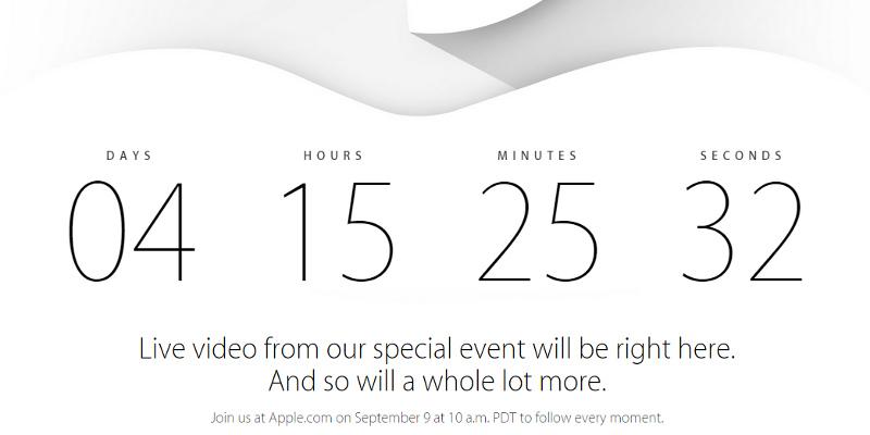 Apple Sep 9 Live Stream