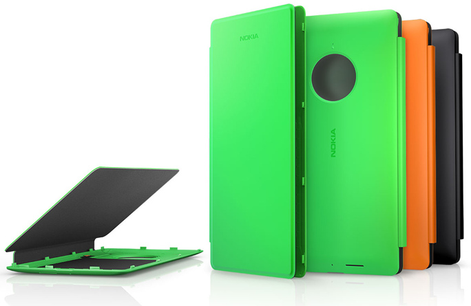 Lumia 830 Wireless Charging Flip Cover