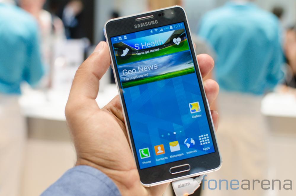 Samsung Galaxy Alpha -1