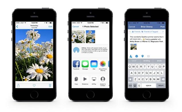 facebook iOS 8
