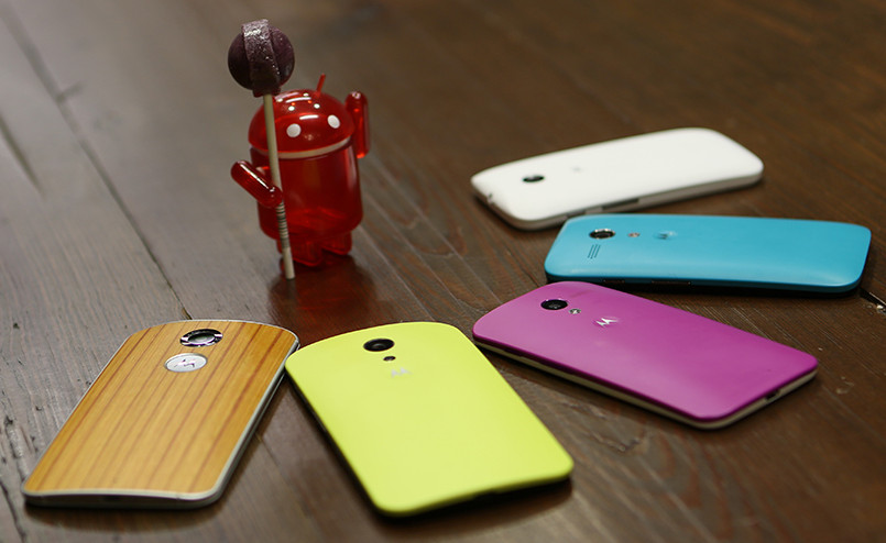 Android 5.0 Lollipop for Moto X, Moto G and Moto E