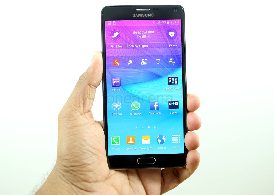 Samsung Galaxy Note 4 India_fonearena-1