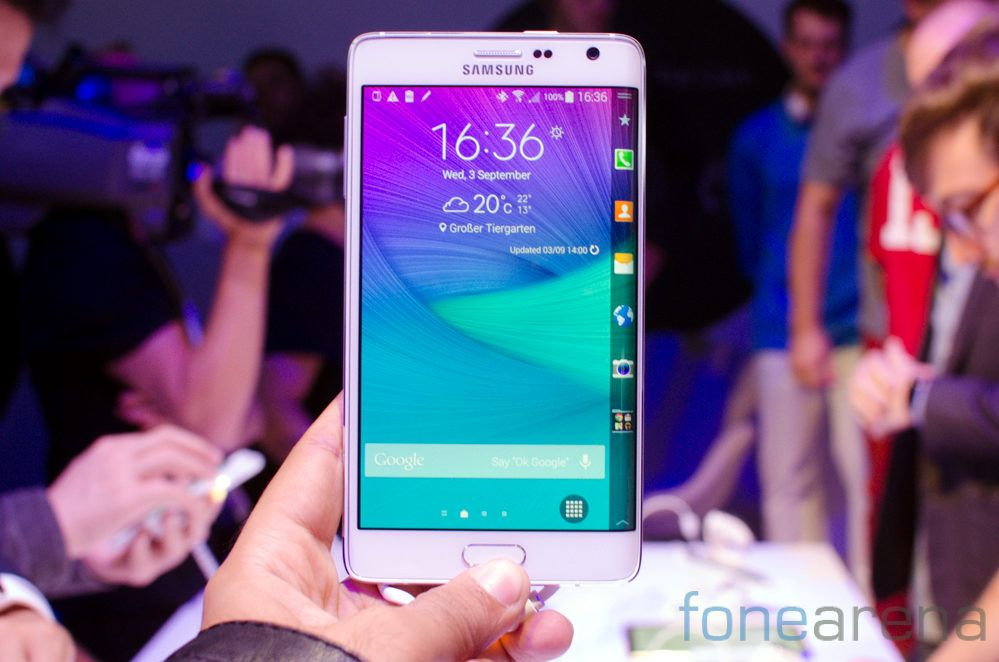 Samsung Note Edge fonearena