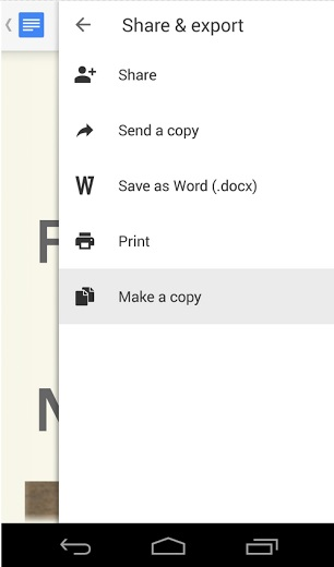 Google Drive, Docs, Sheets and Slides for Android gets Material