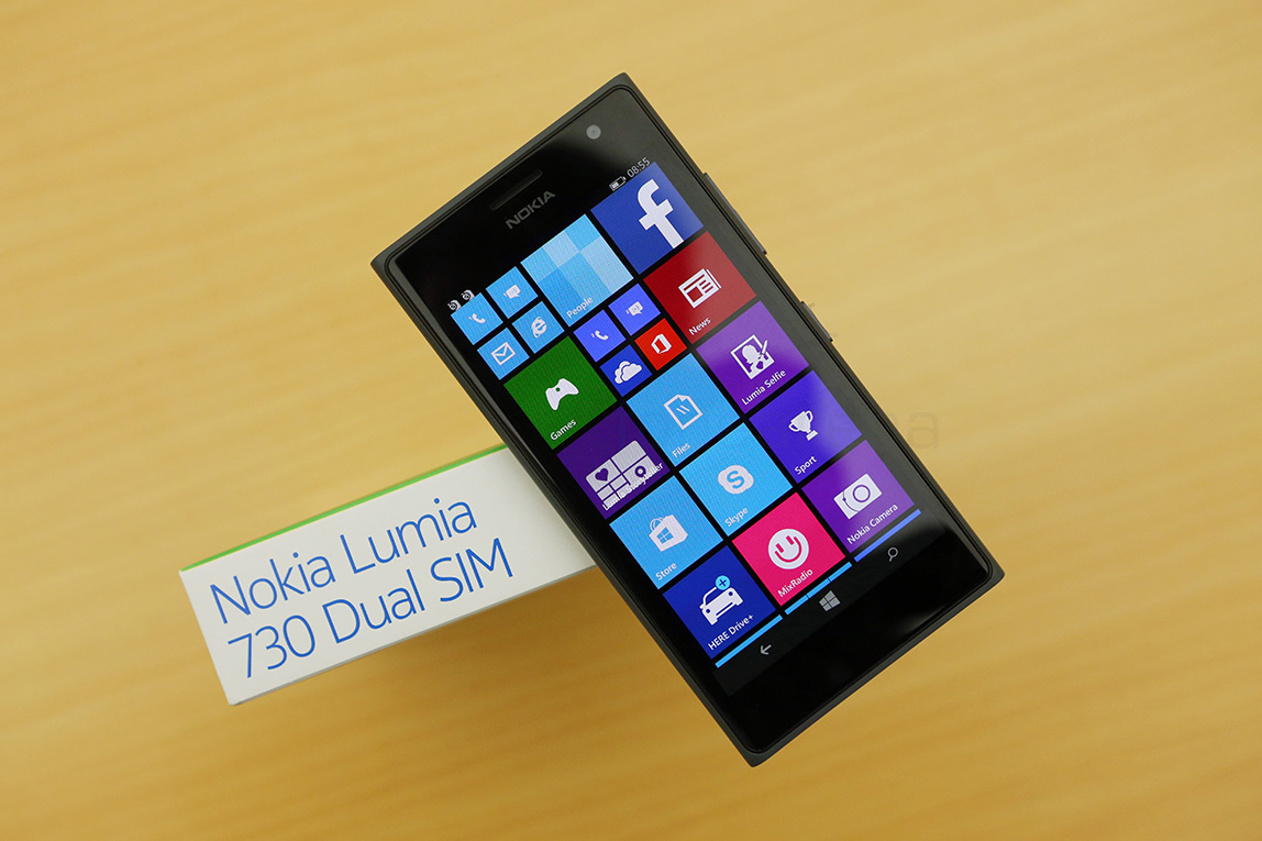 Smartphone Nokia Lumia 730 Dual SIM: an overview b specifications 54
