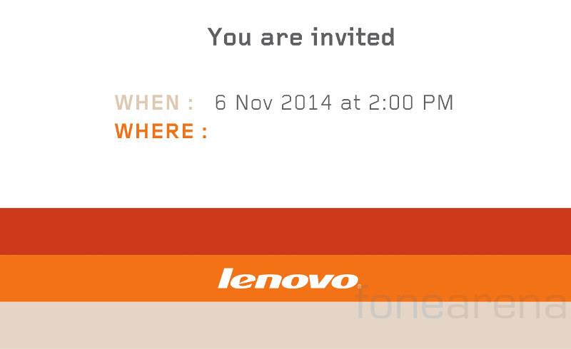 Lenovo Vibe X2 India launch Invite