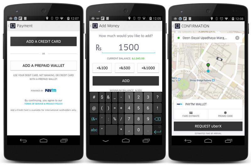 Uber Paytm