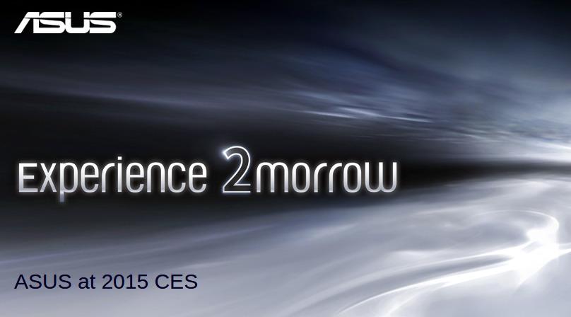 ASUS CES 2015 teaser