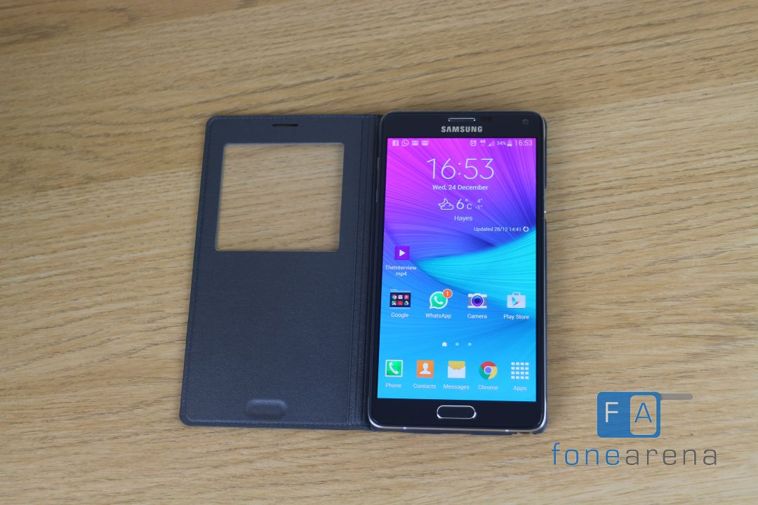 samsung galaxy note 4 sview case