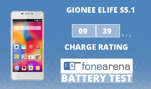 Gionee Elife S5.1 FA One Charge Rating