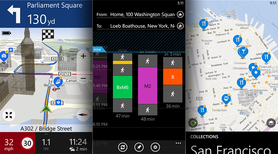 HERE Maps for Windows Phone updated