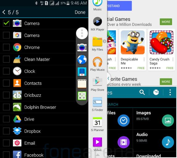 Samsung Galaxy Mega 2 Toolbox and  Multi Window