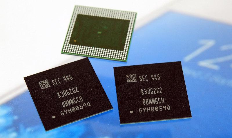 Samsung LPDDR4 RAM