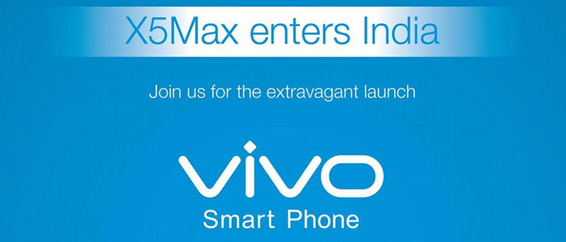 Vivo X5Max India