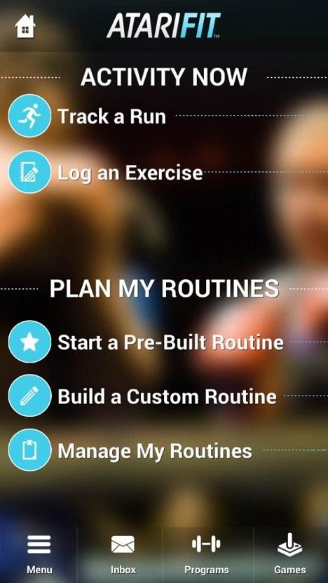 Atari fitness app