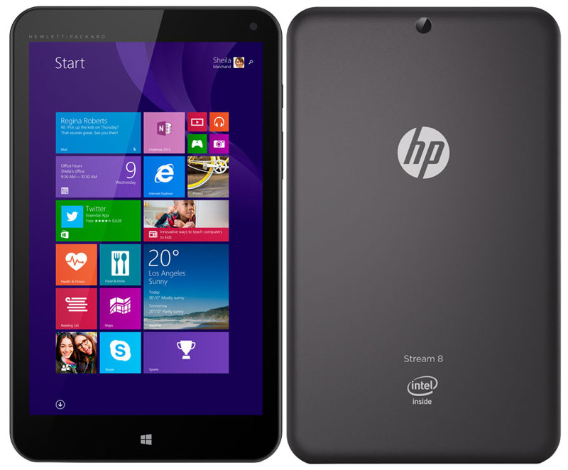 Hp Stream 8 Windows 1 Tablet With 3g Goes On In India For Rs 16990
