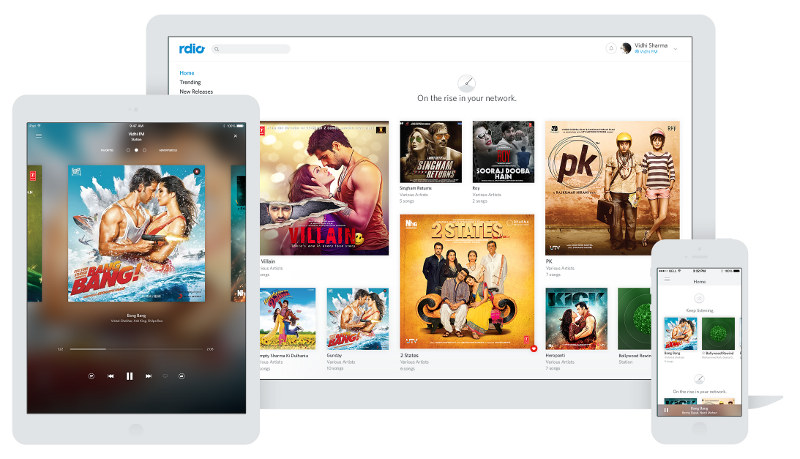 Rdio Music for iPhone and iPad