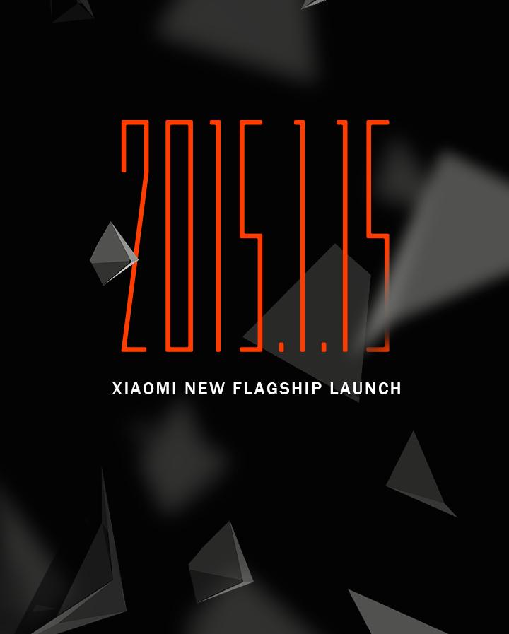 Xiaomi flagship Jan 15