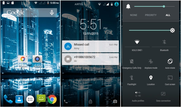 Xolo One Android 5.0 Lollipop